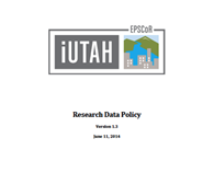 iUTAH Data Policy