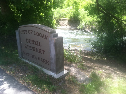 Identifying public access points on the Logan River