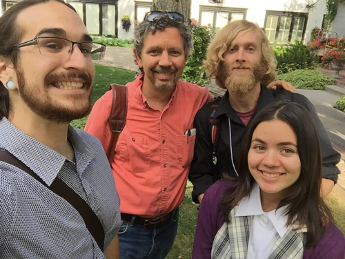 Andre, Doug, Matt, and Viviane after the symposium