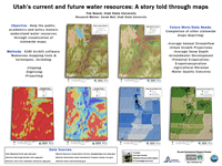 Utah's current and future water resources: A story told through maps