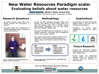 New Water Resources Paradigm scale: Evaluating beliefs about water resourcesWater Manangement