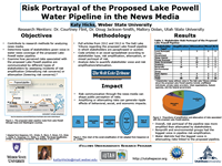 Risk Portrayal of the Proposed Lake Powell Water Pipeline in the News Media