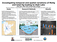 Investigating temporal and spatial variations of MeHg and total Hg loading to Utah Lake