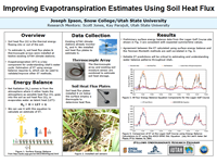 Improving Evapotranspiration Estimates Using Soil Heat Flux