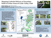 Mapping Curbside Delievery of Secondary Water in Urban Areas of Cache Valley, Utah
