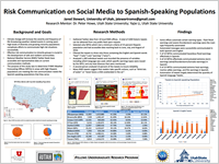 Risk Communication on Social Media to Spanish-Speaking Populations