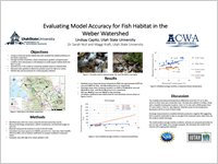 IEvaluating Model Accuracy for Fish Habitat in theWeber Watershed