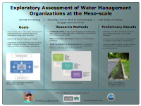 Exploratory Assessment of Water Management Organizations at the Meso-scale
