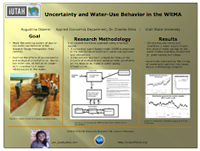 Uncertainty and Water-Use Behavior  in the WRMA