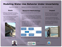 Modeling Water-Use Behavior  Under Uncertainty