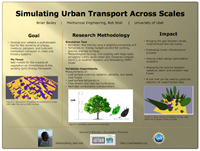 Simulating Urban Transport Across Scales