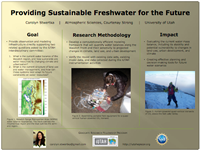 Providing Sustainable Freshwater  for the Future