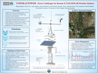 TOWER of POWER - Power Challenges for Remote iUTAH EPSCoR Weather Stations