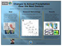 Changes to Annual Precipitation  Over the Next Century