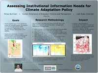 Assessing Institutional Information Needs for Climate Adaptation Policy