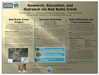 Research, Education, and Outreach via Red Butte Creek